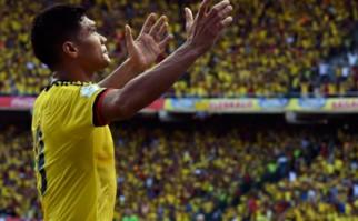 Colombia le ganó 2 a 0 a Perú. Foto: AFP