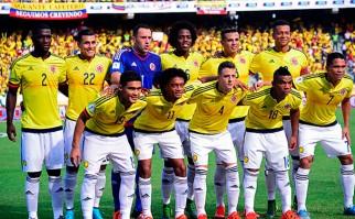 Colombia ya está en Uruguay para el partido del martes. Foto: AFP