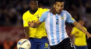 Ecuador sorprendió y le ganó 2 a 0 a Argentina