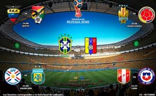 Así se juega la 2da fecha de las Eliminatorias Sudamericanas. Foto: Conmebol
