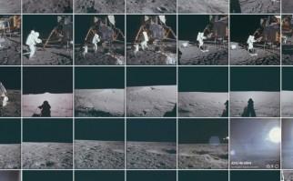9,000 fotos fueron subidas a los Facebook y Flickr oficiales del Apollo Archive Project.