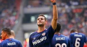 Gastón Pereiro marcó un doblete en el clásico holandés