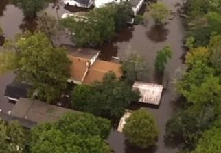 """Las lluvias más fuertes """"en mil años"""" en el sudeste de Estados Unidos y 19 muertos por una tormenta en Francia"""