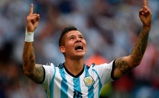 Marcos Rojo se suma a las bajas de Argentina. Foto: AFP