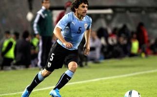 """Mathías Corujo: """"Tenemos que hacernos fuertes de local y sacar los tres puntos frente a Colombia"""". Foto: AFP"""