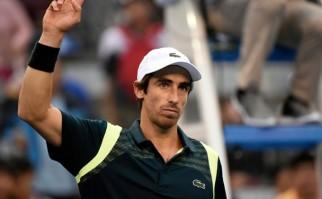 Cuevas se metió en los cuartos de final del ATP 500 de Beijing. Foto: AFP