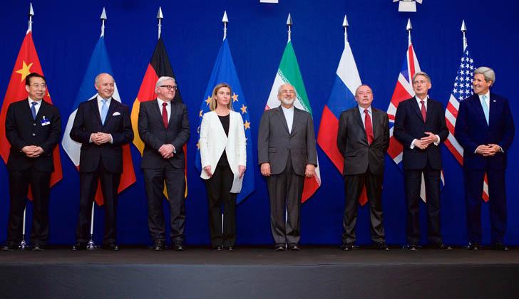 Resultado de imagen para paises firmantes del acuerdo nuclear con iran