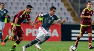 Paraguay le ganó de visitante a Venezuela