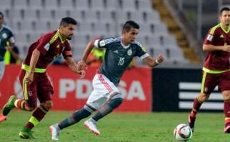 Paraguay le ganó de visitante a Venezuela. Foto: AFP