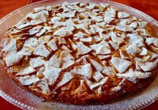 Facilísima tarta dulce de manzanas, muy rica y muy bajas calorías