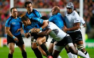 Los Teros perdieron 47 a 15 con Fiji en el Mundial. Foto: @rugbyworldcup