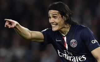 Cavani convirtió para la goleada del PSG al Troyes . Foto: AFP