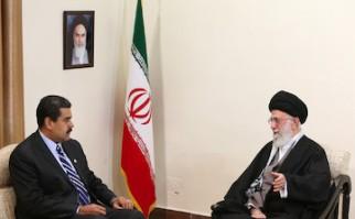 Nicolás Maduro Moros, fue recibido este lunes por el Líder Supremo de la Revolución Islámica, el Ayatolá Sayyid Ali Jamenei. Foto: nicolasmaduro.org.ve.