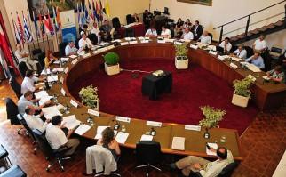"""Vidalín señaló que el primer mandatario """"nos encomendó trasmitir al Congreso de Intendentes para cuando el salga al exterior sean los propios intendentes quienes lo acompañen"""""""