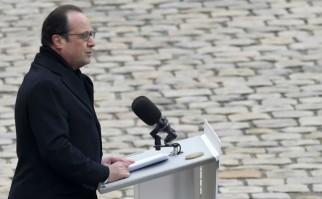 """""""Los que cayeron el 13 de noviembre eran Francia, toda Francia. Ciento treinta vidas destruidas, 130 destinos sesgados, 130 risas que no oiremos más, 130 voces silenciadas para siempre"""""""