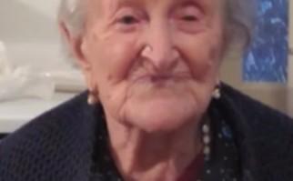 "Emma Morano, ""la abuela de Europa"". Foto: Wikia.com."