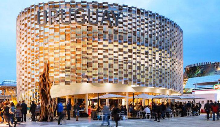Expo Milan Stands : Antonio carámbula para uruguay ingresar a los mercados