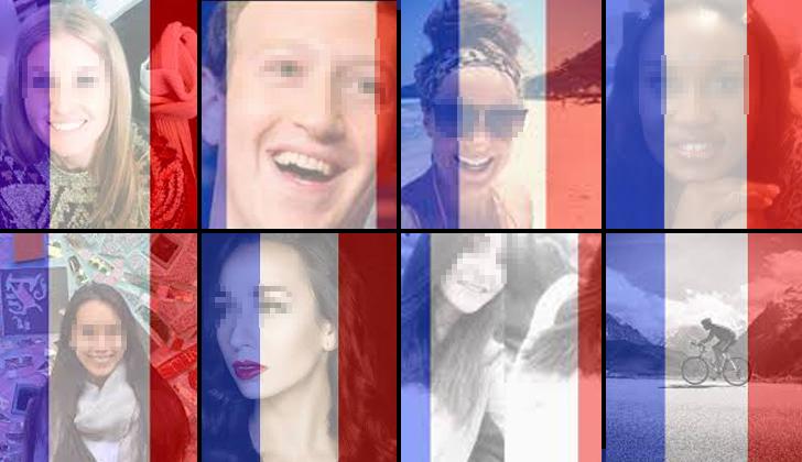Facebook habilitó un filtro para colocar la bandera de Francia como foto de perfil luego de los atentados en París. No así para los demás eventos terroristas en otros países.