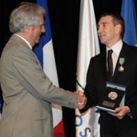 En un acto encabezado por el presidente Vázquez, Julio Bocca recibió la Medalla Delmira Agustini