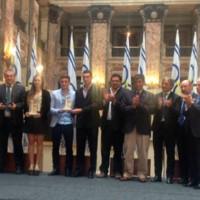Lola Moreira y la selección panamericana de fútbol obtuvieron el premio a Deportista del Año