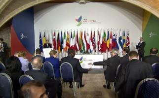 Imagen de la conferencia de lanzamiento de la Cumbre de las Migraciones 2015. Foto: consilium.europa.eu.