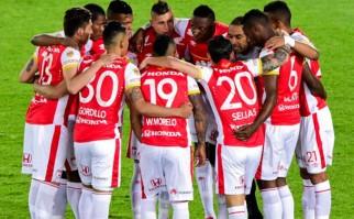 Independiente Santa Fe es el primer finalista de la Sudamericana 2015. Foto: AFP