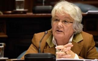 """No sé nada de Macri. Le oí dos o tres discursos pero de esos tan genéricos que no dicen nada"", afirmó la Senadora. Foto: MPP."
