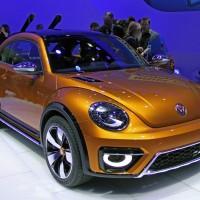 Auto Show de Los Ángeles: el Volkswagen Beetle Dune 2016 gana la aceptación general del público