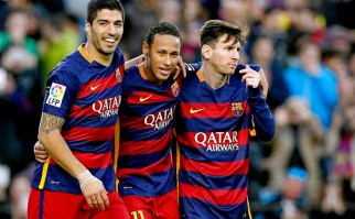 """Neymar: """"Messi, Luis Suárez y yo deberíamos ser los finalistas al Balón de Oro"""". Foto: AFP"""