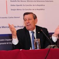 Canciller Rodolfo Nin Novoa reclamó flexibilidad al MERCOSUR para buscar acuerdos fuera del bloque