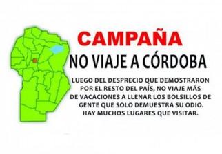 """Campaña """"No viaje a Córdoba"""" por haber votado masivamente a Macri, viral en la redes sociales"""