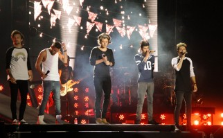 One Direction tocando en Santiago de Chile en 2014, como parte de su gira Where We Are Tour. Foto: Wikimedia Commons.