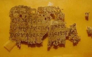 """El usuario """"xselect55"""" es vendedor en Ebay desde 2010, y fue quien puso en subasta el papiro. Foto: Ebay/xselect55."""