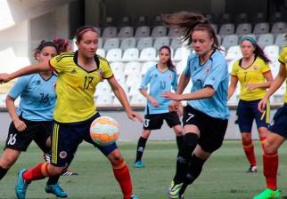 La selección femenina sub 20 cayó ante Colombia y se despidió del Sudamericano