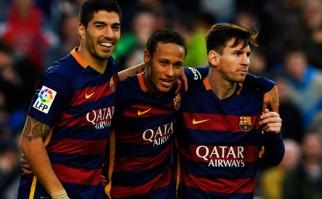 Suárez no para de hacer goles para el Barcelona. Foto: AFP