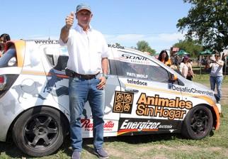 Gustavo Zerbino completa el Desafío Chevrolet para ayudar a la organización Animales Sin Hogar