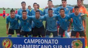 Uruguay le ganó a Chile por el Sudamericano Sub 15