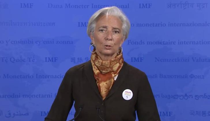 Christine Lagarde, directora del Fondo Monetario Internacional. Foto: FMI.