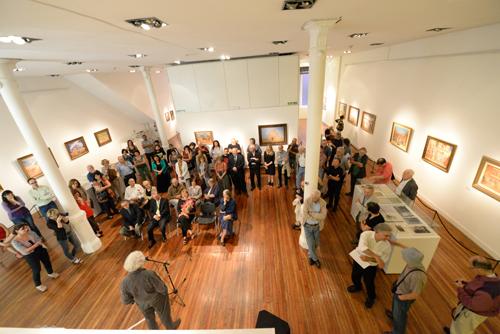 El museo Figari colmado de público fue el lugar elegido para el evento