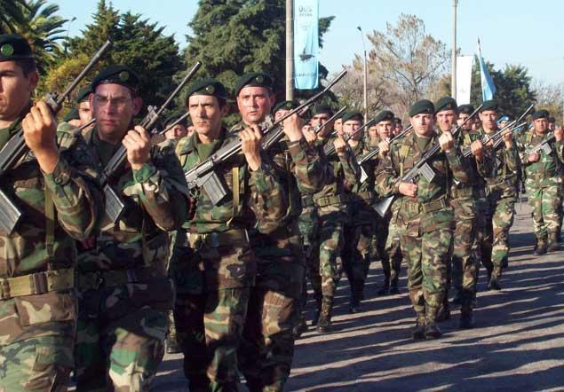 Foto: Ejército de Uruguay.