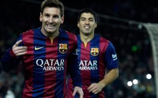"""Messi: """"Luis Suárez también se merecía estar entre los tres mejores"""". Foto: AFP"""