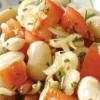Ensalada de porotos de manteca provenzal ideal para picar con pan tostado