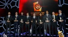 Entrega de premios a los mejores de la Liga de España 2014/2015