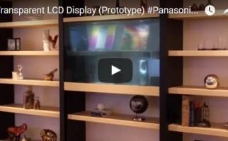 """Llegan los televisores """"transparentes"""" que cuando están apagados dejan ver cualquier decoración detrás del aparato"""