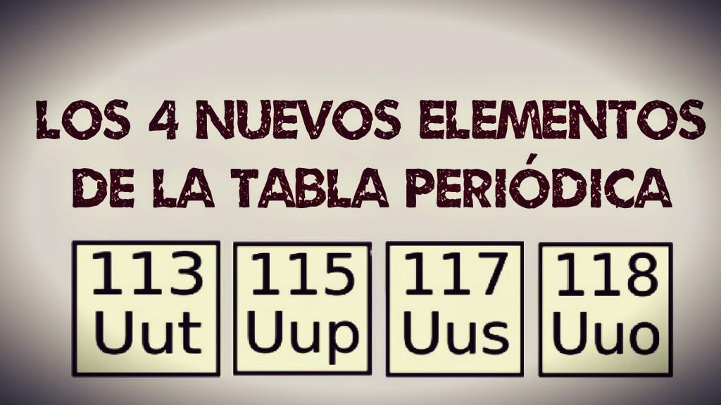 Cuatro elementos creados por el hombre ingresan a la tabla peridica cuatro elementos creados por el hombre ingresan a la tabla peridica que completa su sptima fila con 118 elementos noticias uruguay lared21 diario urtaz Gallery