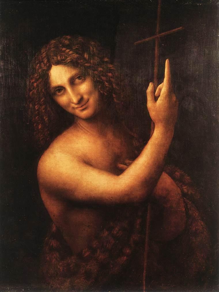 San Juan Bautista, de Da Vinci.