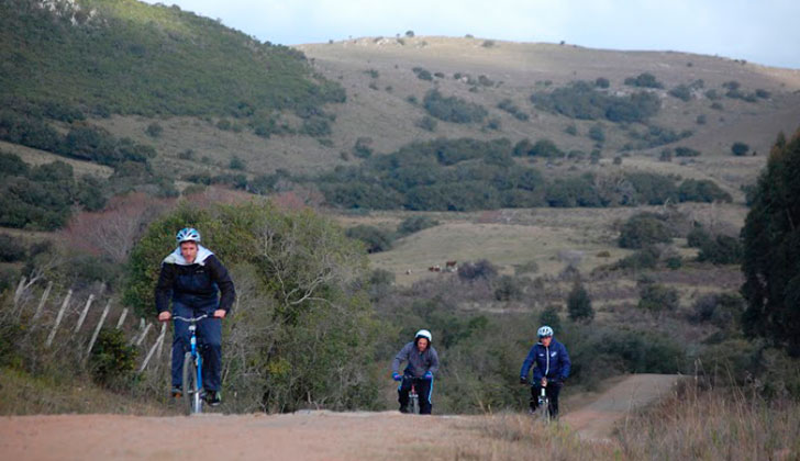 Uruguay Alternativo invita a una travesía en bicicleta por el interior del país. Foto: Uruguay Alternativo