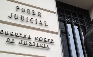 El presidente de la Suprema Corte de Justicia alerta de un posible colapso de la Justicia por escasez de recursos.