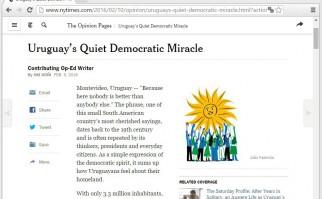 Foto del artículo, tomada en la página web del famoso periódico. (Propiedad del New York Times).