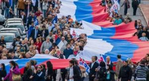El Frente Amplio conmemoró sus 45 años con una exhortación a continuar profundizando los cambios